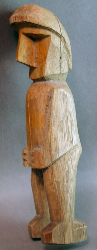 Nuchu Kuna Statue Healing Shaman Figure Kuna Doll Yala Carti Panama Ethnix photo