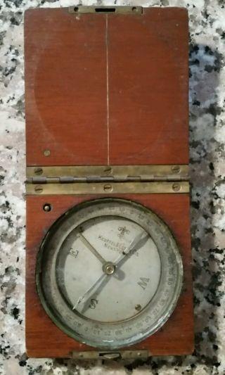 Keuffel & Esser Co.  Vintage Surveyor Compass photo