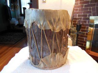 Antique American Indian Drum photo