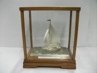 The Sailboat Of Silver985 Of The Most Wonderful Japan.  Takehiko ' S Work. photo
