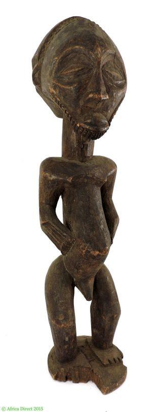 Hemba Memorial Figure Standing Male Congo African Art Was $75 photo