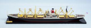America Scout C2 Cargo Ship Waterline 34