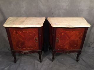 Gorgeous French Louis Xv Style Nightstands - 10534 photo