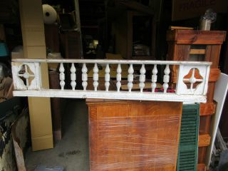 1880 Victorian Gingerbread Porch Spandrel Pediment W Spindles 59