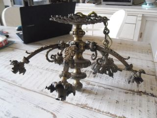 Splendid & Large French Chandelier Antique Xix èm Napoléon 3 photo