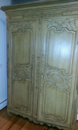 French 19th Century Louis Xv Two Door Armoire photo