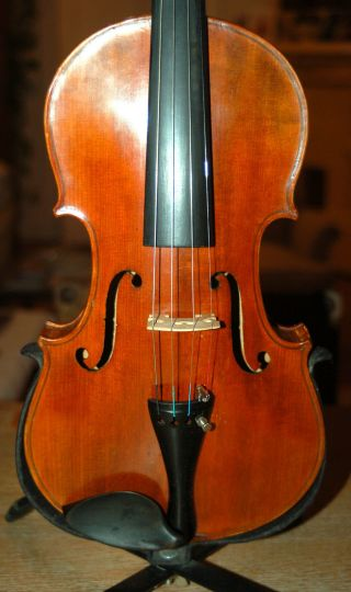 Fine Old Antique German Fullsize 4/4 Violin - From Around 1920/30 photo