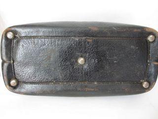Antique Doctors Bag Case Hard Shell Dr Medical Medicine Carry Satchel Rare photo