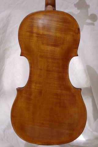 Interesting Antique Violin With Strong Deep Tone photo