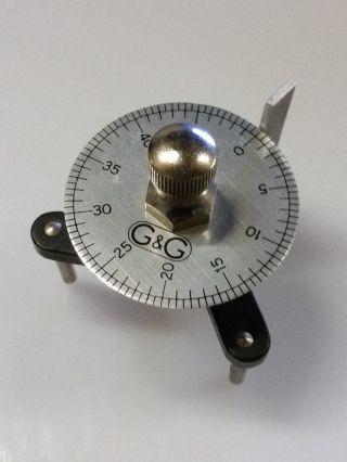 Vintage Spherometer By Griffin & George.  Measuring Glass Curve Lenses photo