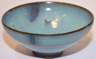Purple - Splashed Jun Bowl,  Jin/yuan Dynasty ?? photo