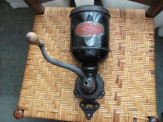 Antique Universal 014 Coffee Mill Made By Landers,  Frary & Clark - Circa 1905 photo