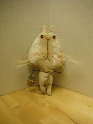 Big Head Betsie The Primitive Bunny photo