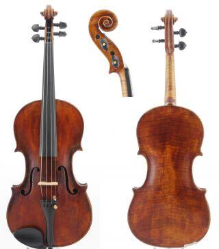 Fine Francesco Guadagnini Italian 4/4 Old Antique Violin photo