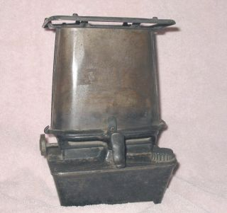 Antique No 1 L & H Lindermann Hoverson Cast Iron Cook Stove Burner Heater 1893 photo