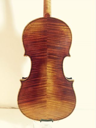 Impressive Old Antique Italian Model Violin Signed Ricardo Pietro C.  2010 photo