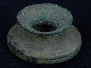 Ancient Bronze Pot Bactrian 300 Bc photo