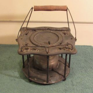 Antique F.  Arnold Combined Stove & Lantern photo