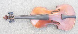 Antique German Full Size Violin For Minor Repair photo