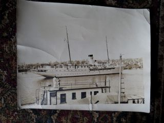 Photo 1930s Yacht