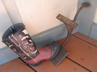 Antique Cast Iron Buggy/stage Coach Step photo