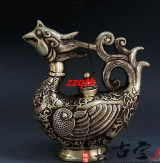 Exquisite China Copper Plating Of Handmade Of Fengzui Teapot photo