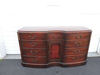 Large Mahogany Dresser By White Furnture 6965bx photo