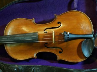 Old French Violin photo