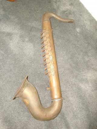 The Hohner Sax Made By M.  Hohner Germany 1920 ' S Maybe photo