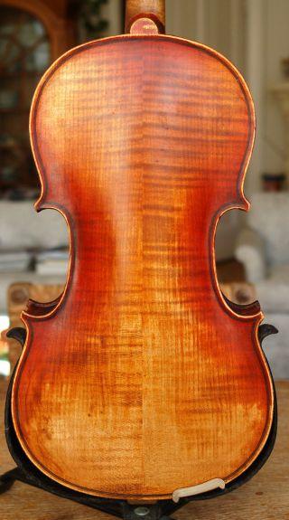 Antique Handmade German 4/4 Violin - Label Celeste Farotti Milano 1938 photo