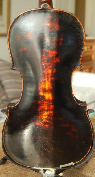 Fine Antique Handmade German 4/4 Fullsize Violin - Stainer Model - 1900 photo