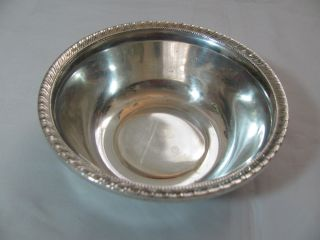 Sterling Silver Vintage Bowl Hallmarked photo