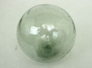 F25 Japanese Antique Glass Fishing Float Buoy Ball ø9 Cm 3.  5