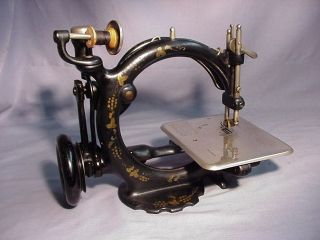 Antique Willcox And Gibbs 1880 ' S Sewing Machine Great Shape photo