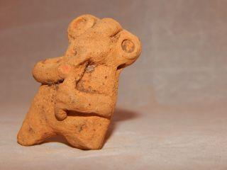 Pre - Columbian Clay Effigy photo
