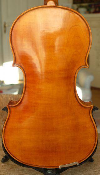 Fine Antique Handmade German 4/4 Fullsize Violin - From 1920 ' S photo