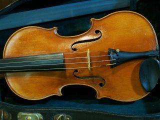 Old Italian Violin photo