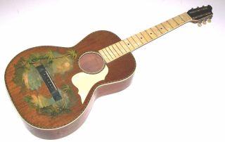 Antique Vintage Hawiian Parlor Guitar Project Regal,  Stromberg Voisinet,  Kay photo