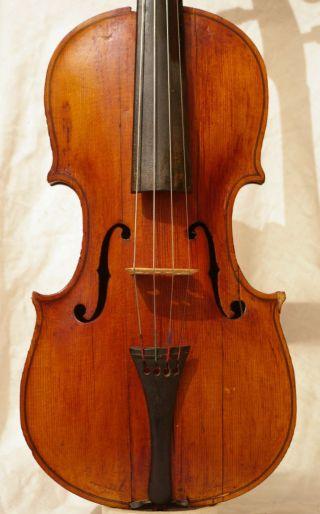 Interesting Antique Italian? Violin photo