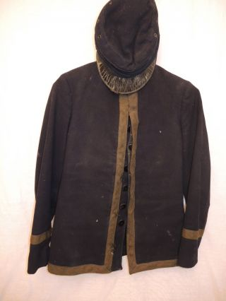 Antique Early 1900 ' S Band Uniform Jacket & Cap photo