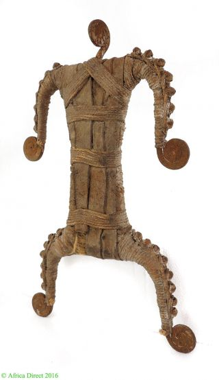 Namchi Namji Or Matakam Iron Fertility Doll Cameroon African Art photo
