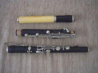 Fine Antique Wooden Flute photo