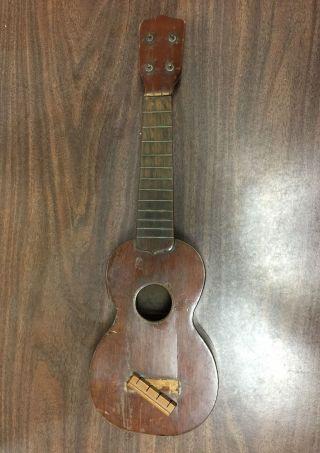 Antique C.  F.  Martin & Co.  4 String Ukulele 1920 ' S? 30 ' S? photo