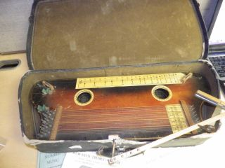 Vintage Hawaiian Tremoloa With Case Manufacturers Advertising As Found photo