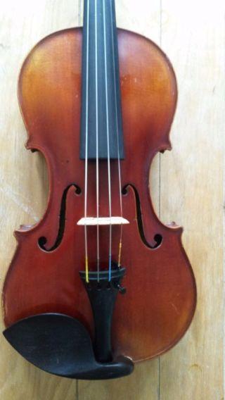 Antique V.  C.  Squier 4/4 Violin,  1926,  Ready To Play, photo