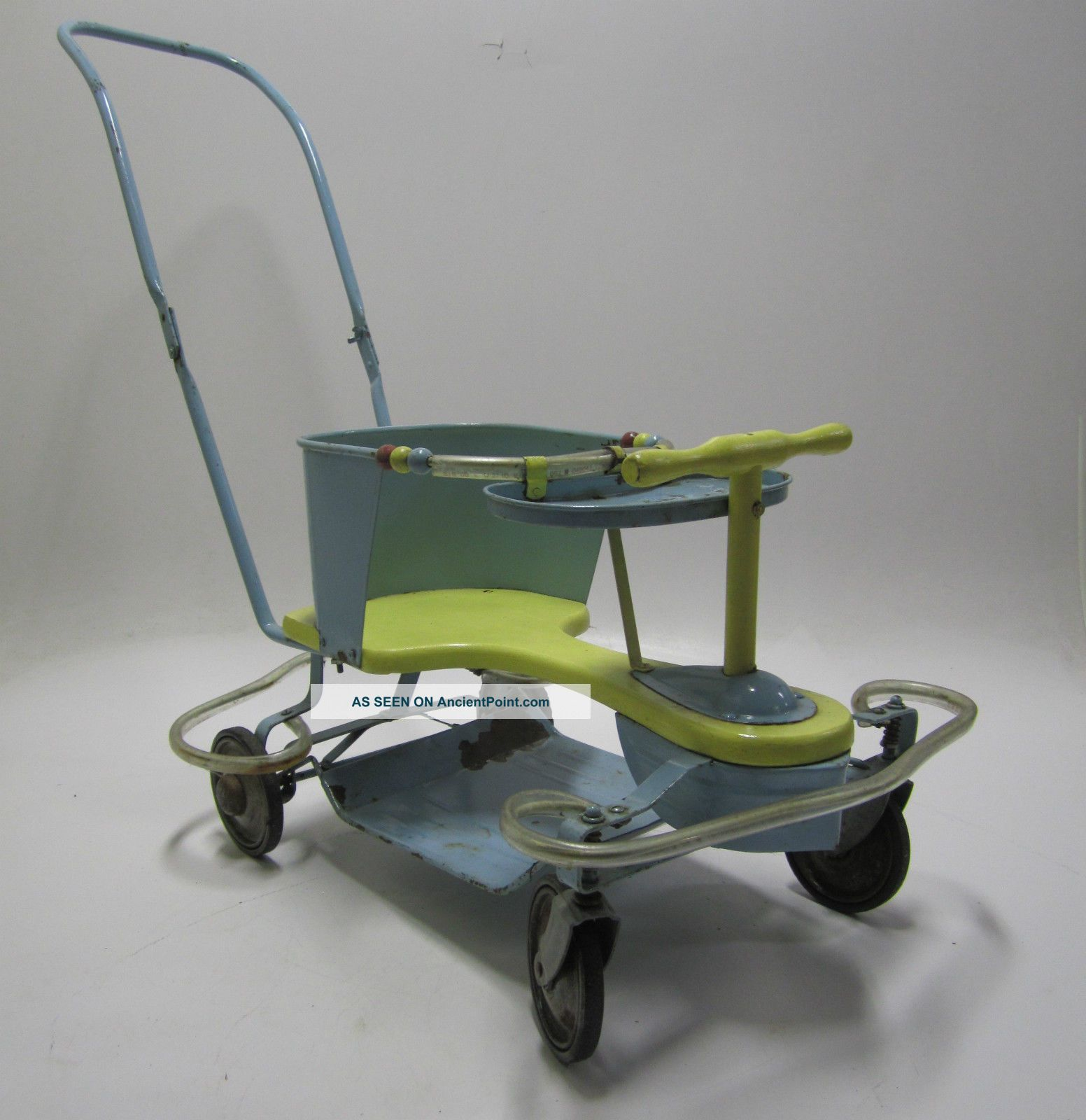 Complete 1950 ' S Vintage Taylor Tot Convertible Stroller/walker Parts/restoration Baby Carriages & Buggies photo