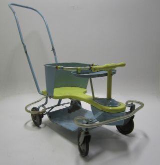 Complete 1950 ' S Vintage Taylor Tot Convertible Stroller/walker Parts/restoration photo