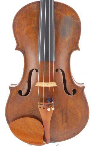 Fine,  Antique Alphius Messina 4/4 Old Italian Violin photo
