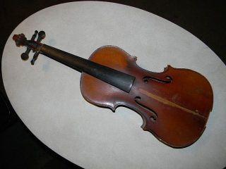 Antique Violin Copy Of Josef Guarnerius Made In Germany 23