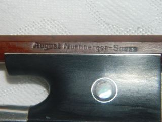 Old Violin Bow August Nurnberger Suess photo